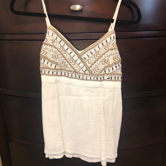 3 for $25 * beaded tank top